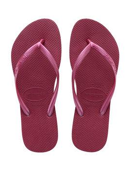 Slim Plain Flip Flop by Havaianas