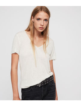 Emelyn Shimmer T Shirt by Allsaints