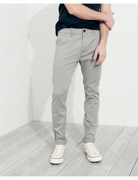 Advanced Stretch Super Skinny Chino Pants by Hollister