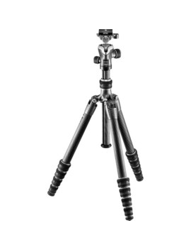 Gt1555 T Series 1 Traveler Carbon Fiber Tripod With Center Ball Head by Gitzo