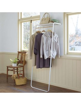 Leaning Shelf &Amp; Coat Rack by Uncommon Goods