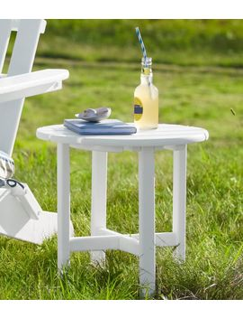 All Weather Round Side Table by L.L.Bean