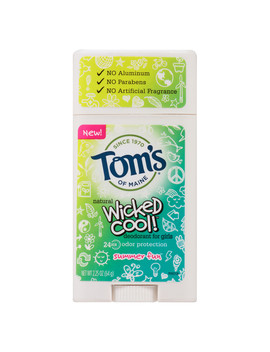 Tom's Of Maine Wicked Cool Girls' Deodorant Summer Fun2.25 Oz. by Walgreens