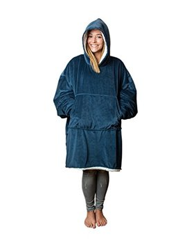 the-original-comfy:-warm,-soft,-cozy-sherpa-blanket-sweatshirt,-seen-on-shark-tank,-invented-by-2-brothers,-multiple-colors,-for-adults-&-children,-reversible,-hood-&-large-pocket,-one-size by the-comfy