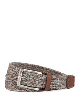 Braided Leather Belt by Joe's