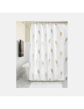 Gold Pineapple Shower Curtain Gold Pineapple Shower Curtain by Dormify
