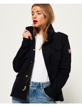 Rookie Classic Military Jacket by Superdry