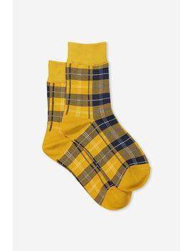 90 S Check Socks by Supre