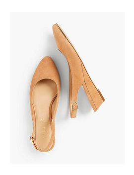 Laney Slingback Wedges by Talbots