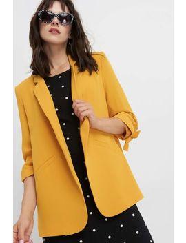 Jachetă Dreaptă Cu Dungi Verticale by Orsay
