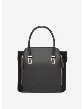 Black Medium Hardware Tote Bag by Dorothy Perkins