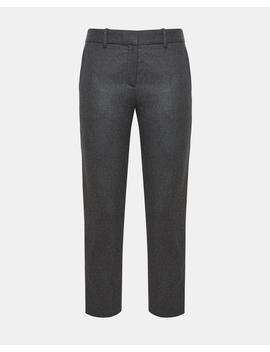 Wool Flannel Treeca Slim Fit Pant by Theory