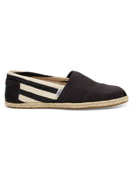 Navy Striped University Men's Classics by Toms
