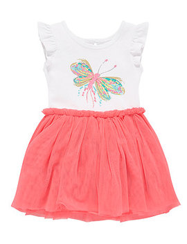 Butterfly Mesh Dress by Mothercare