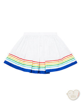 Little Bird White Striped Skirt by Mothercare