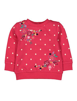 Embroidered Sweat Top by Mothercare