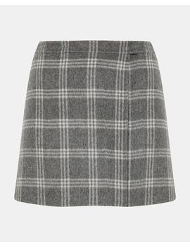 Double Faced Snap Mini Skirt by Theory