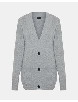 Oversized Placket Cardigan by Theory