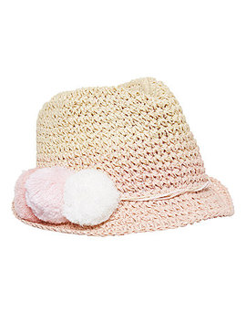 Pink Ombre Pom Trilby by Mothercare
