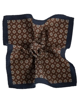 Brown Pocket Square by Suitsupply