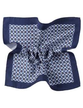 Navy Pocket Square by Suitsupply