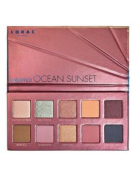 Lorac Unzipped Ocean Sunset Shadow Palette &Amp; Mini Behind The Scenes Primer by Lorac