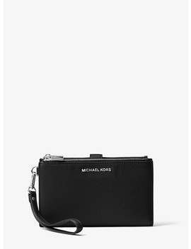 Adele Leather Smartphone Wristlet by Michael Kors