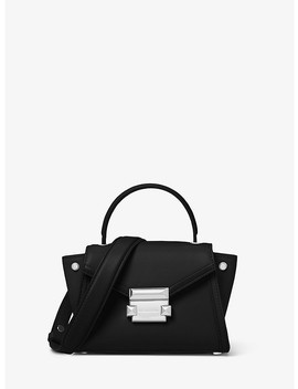 Whitney Mini Leather Satchel by Michael Kors