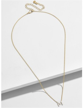 Precious Alpha Pendant Necklace by Baublebar
