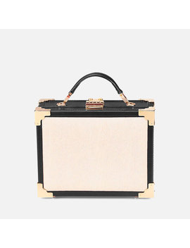 Aspinal Of London Women's Mini Trunk Bag   Monochrome by Aspinal Of London