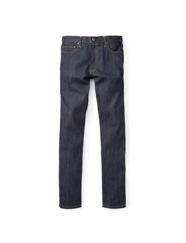 Stretch Selvage Jeans   Slim by Flint And Tinder