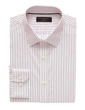 Slim Fit Non Iron Yarn Dye Shirt by Banana Republic Factory