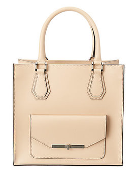Bcbgmaxazria Shay Convertible Leather Tote by Bcbgmaxazria