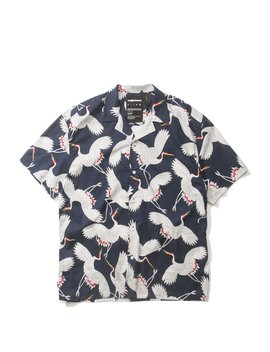 Birds S/S Button Up by The Hundreds
