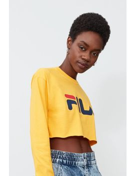 Collette Long Sleeve Crop Tee by Fila