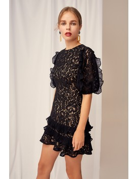 Timeless Lace Mini Dress by Bnkr