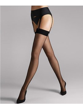 Individual 10 Denier Thigh High Stockings by Wolford