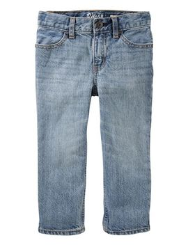 Straight Jeans   Sun Faded Light by Oshkosh