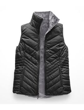 Women's Mossbud Insulated Reversible Vest by The North Face