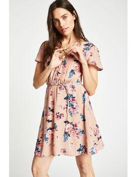 Perwent Soft Printed Tea Dress by Jack Wills