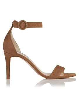 Dora Brown Suede Sandals by L.K.Bennett