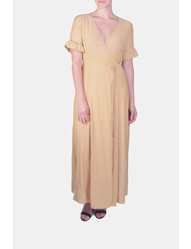 Angelic Wrap Maxi Dress by Goldie's, Los Angeles