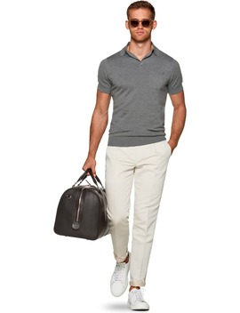 Grey Polo by Suitsupply