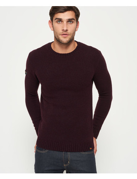 Arno Crew Neck Jumper by Superdry
