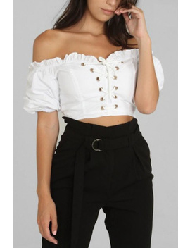 Off Shoulder Top by Timeless, Los Angeles