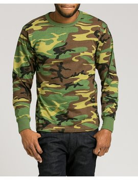 Camouflage Long Sleeve Tee by Rothco