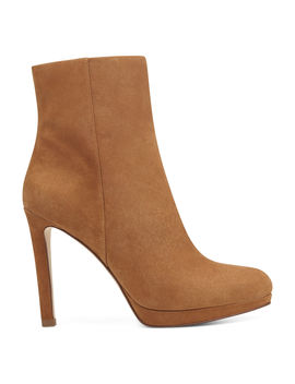 Quanette Platform Booties by Nine West