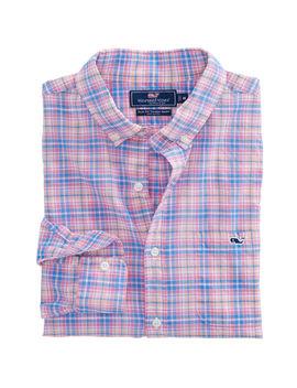 Stoney Hill Plaid Slim Tucker Shirt by Vineyard Vines