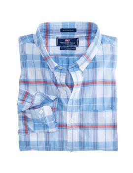 Cape Poge Plaid Slim Murray Shirt by Vineyard Vines
