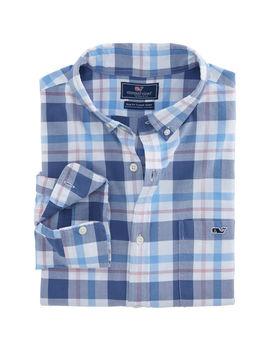Colony Bay Plaid Slim Tucker Shirt by Vineyard Vines